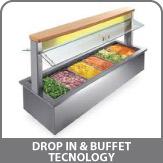 Drop in & Buffet   Tecnology