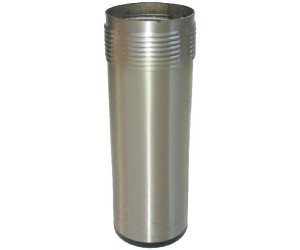 PIEDE TONDO INOX Ø 1'' 1/2 H128 MM. / STAINLESS STELL FOOT 1'' 1/2 M. H128 MM - 2201