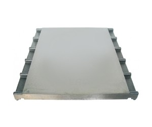 PIASTRA IN GHISA LISCIA 395x430 MM. / FLAT PLATE IN CAST IRON 395x430 MM - 22201
