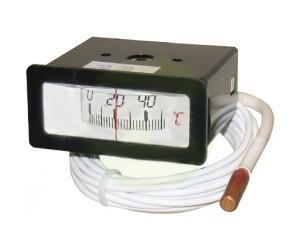 TERMOMETRO RETTANGOLARE 0÷120°C CAP. 3 MT - 3224