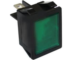 LAMPADA SPIA VERDE 30x22 MM - 3931