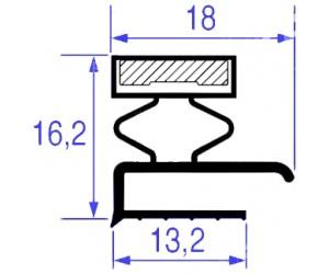 GUARNIZIONE MAGNETICA 325 x 1550 MM- 8001